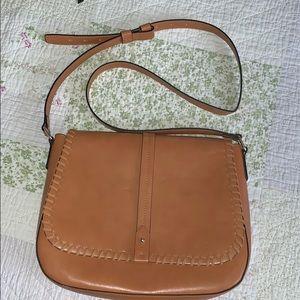 Gap tan crossbody bag